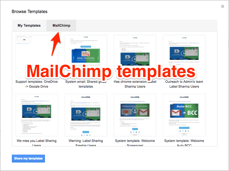 Templates For Mailchimp Free Image Collections Free