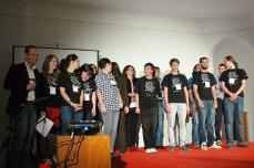 Echipa și voluntarii TEDx Cluj, Mai 2011