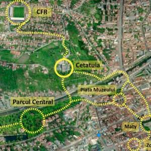 O viziune pentru dezvoltarea zonei Cetăţuia