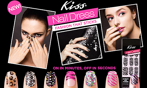 Kiss Nail Dress - Fashion That Sticks