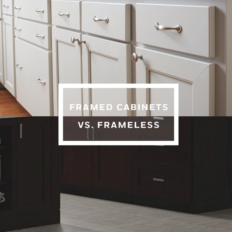 Frameless Kitchen Cabinets Vs Framed Step Four: Picking The Right Products For Your Kitchen