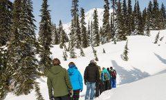Mt Rainier Snowshoe Trip