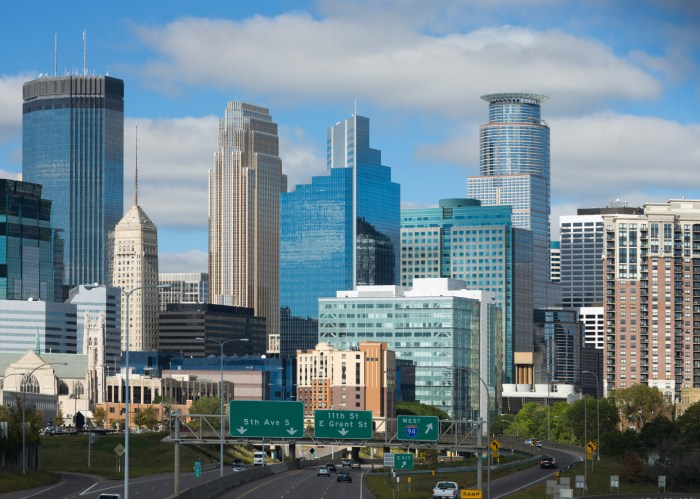 Picture of downtown Minneapolis