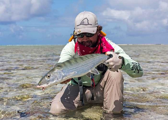 catching yellowfish