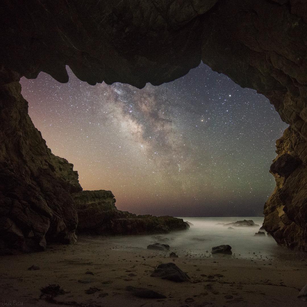 Malibu Sea Cave - Jack Fusco