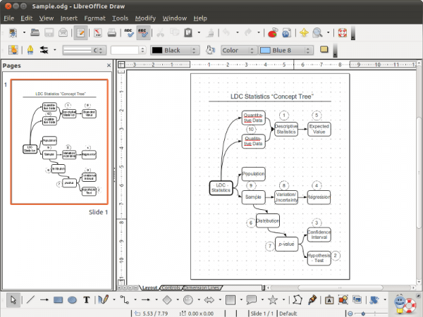 microsoft office diagram