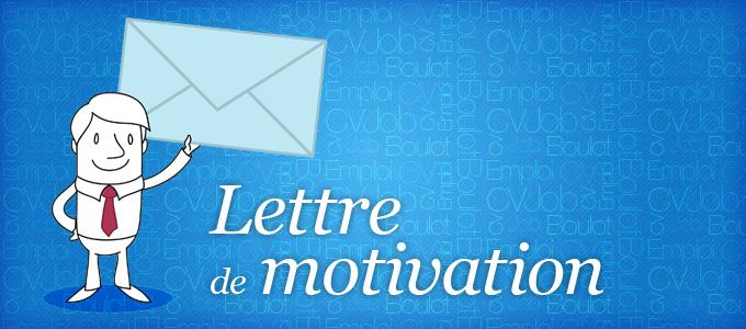 lettre de motivation cv actualite