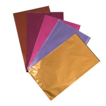 toutes les couleurs de pochettes cadeaux métallisées