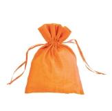 pochon pour bijoux orange