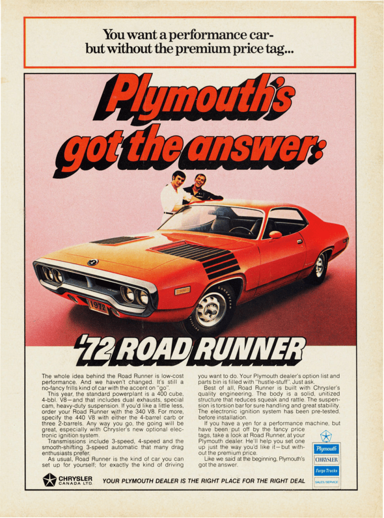 1968 Dodge Charger Wallpaper Cars Model Year Madness 10 Classic Ads From 1972 The Daily