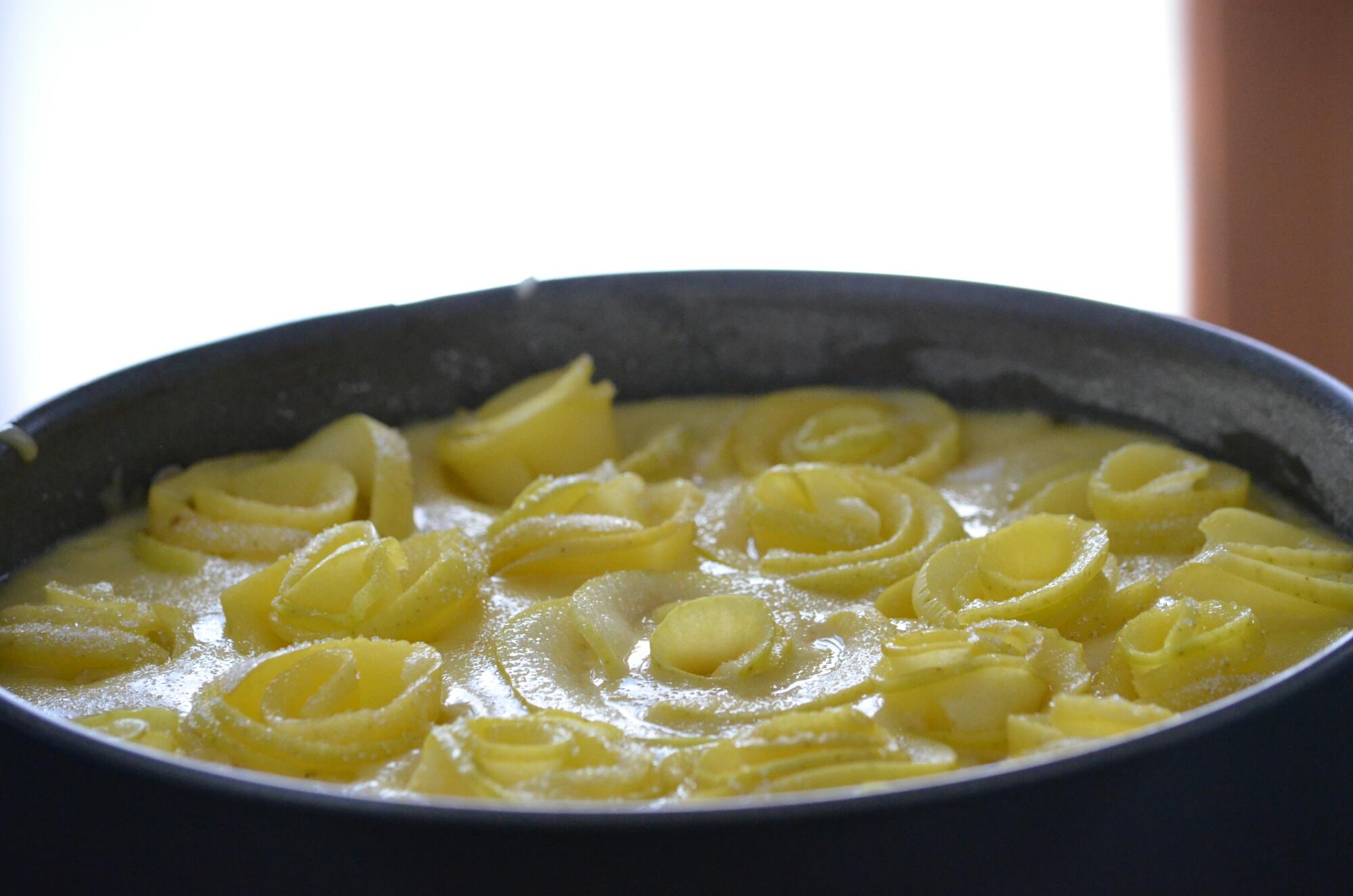 Torta Roselline di mela Petaloso