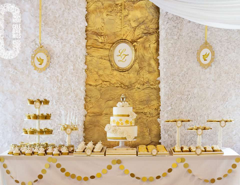 First Communion Party Decorations Ideas Elitflat