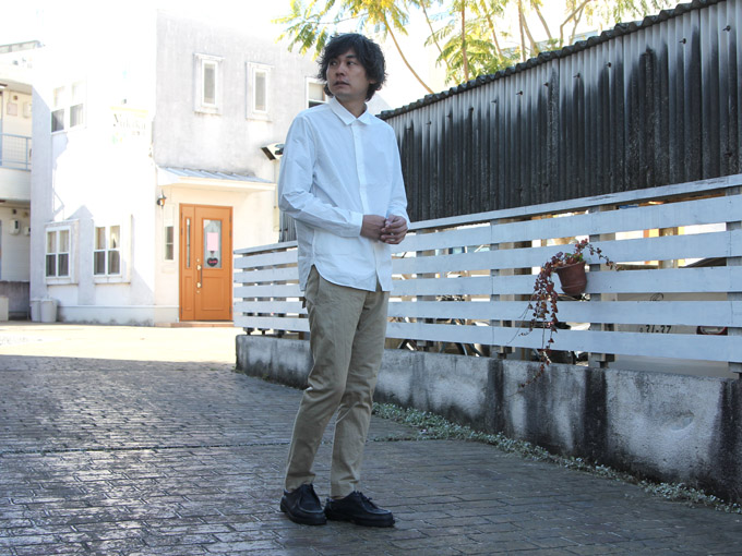 YAECA (ヤエカ) COMFORT SHIRT STANDARD FIT LONG