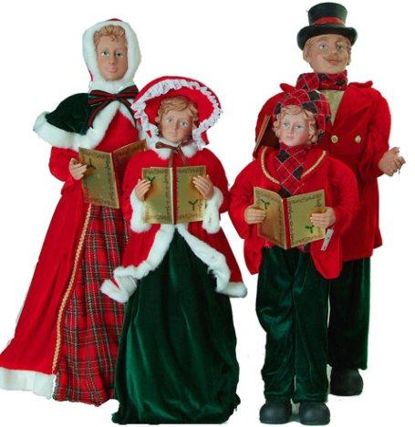 Christmas Caroler Decorations - Christmas Decore - christmas carolers decorations