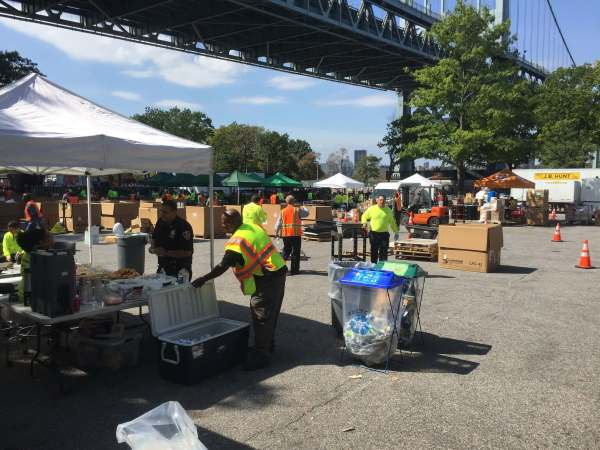 NYC SAFE disposal collection area
