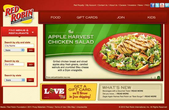 Beautiful Restaurant Website Designs View 25 Examples