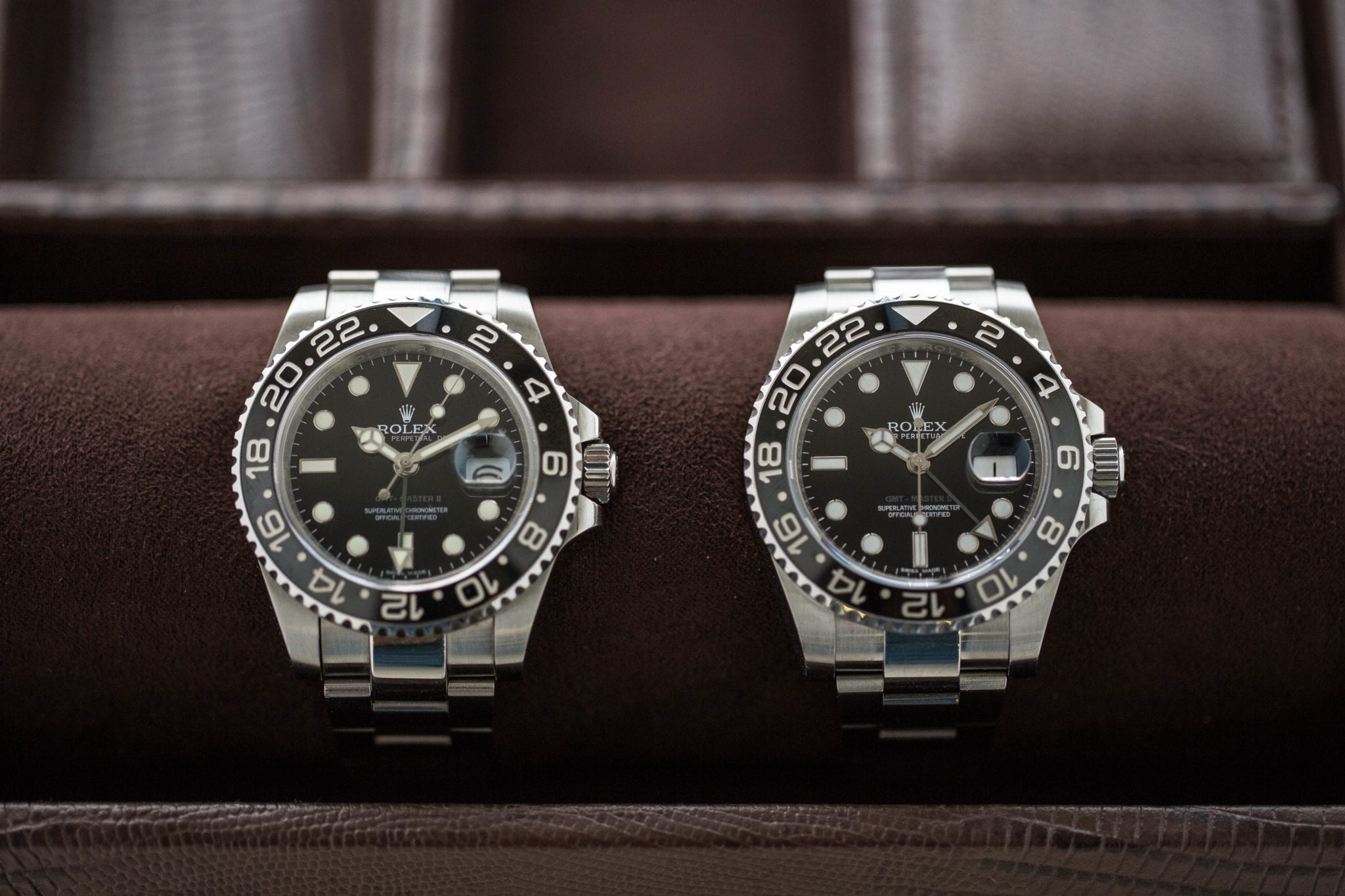 Rolex Nachbau Video Real Vs Fake Rolex Gmt Master Ii Crown