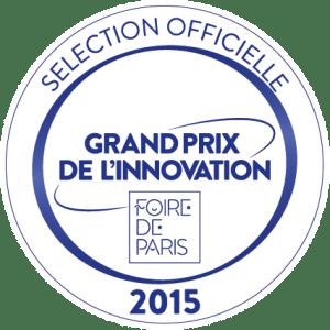 Nominé pour le grand prix de l'innovation de la foire de paris 2015