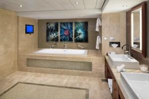 Penthouse Suite Bathroom on Celebrity Silhouette