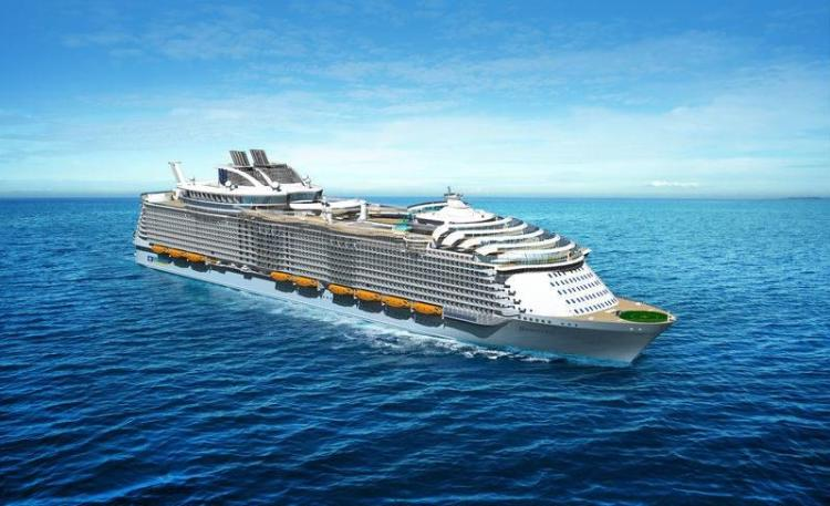 Render of the Harmony of the Seas
