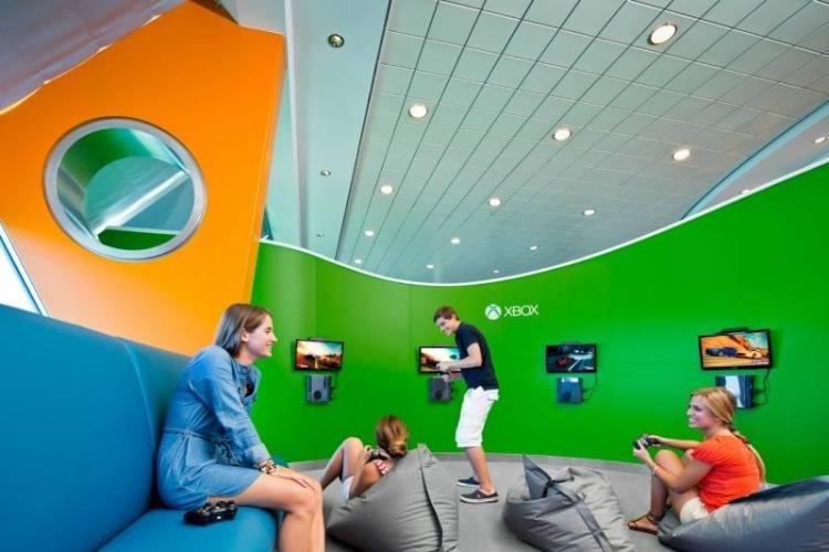 Celebrity Cruises XBOX Lounge