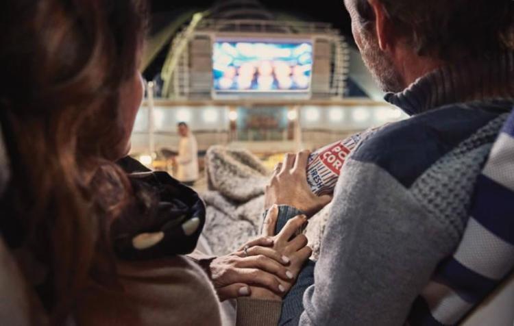 Movie experience on Princess cruise line