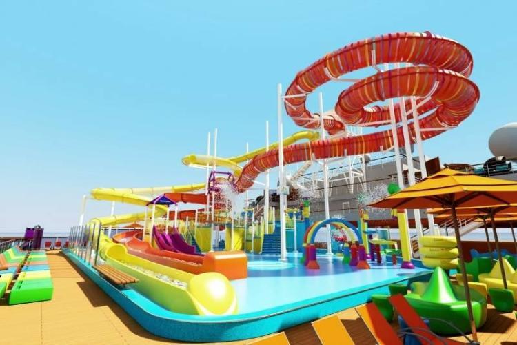 Pool Area on the Carnival Vista