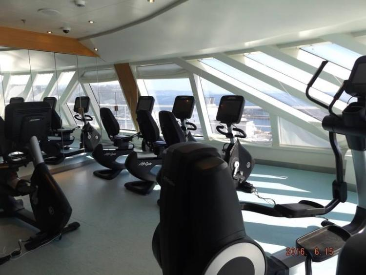 Carnival Vista Fitness Centre