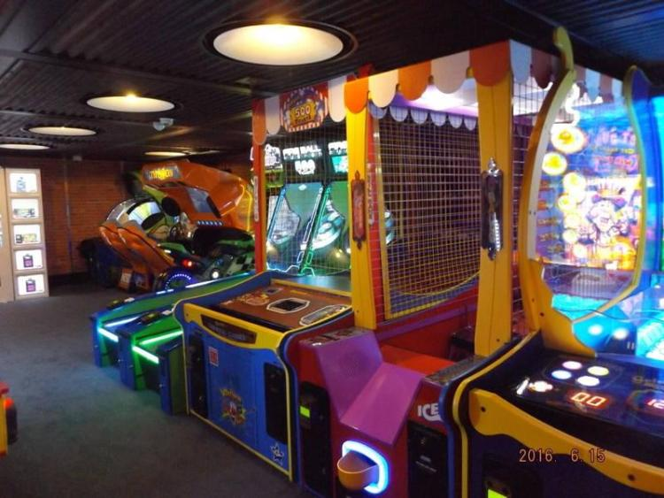 Carnival Vista Video Arcade