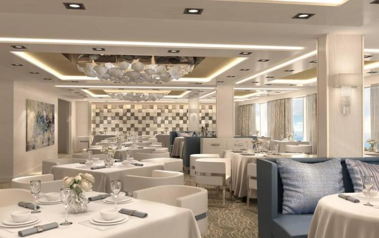 The Haven Lounge on the Norwegian Bliss