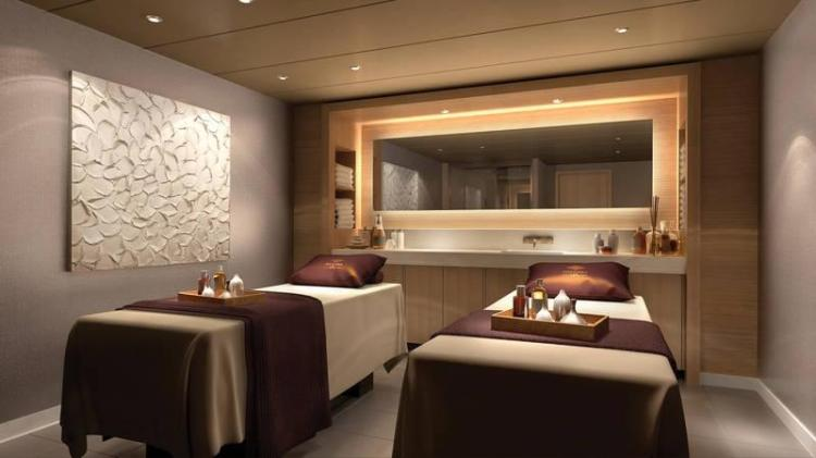 Spa Treatment Rooms on the Norwegian Bliss