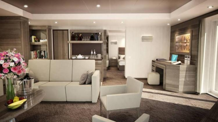 MSC Meraviglia Yacht Club Royal Suite