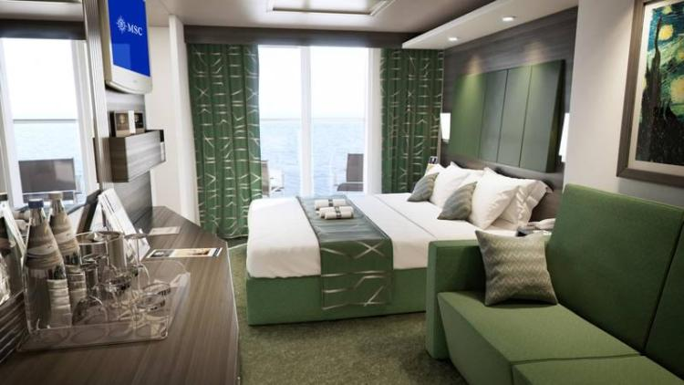 MSC Meraviglia Family Cabin with Balcony