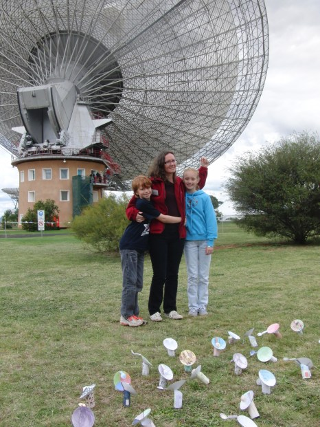 """Sarah Pearce - Deputy Chief, Astronomy & Space Science (Marsfield). """"My kids say I'm in charge of astronomy for CSIRO! But they also describe my day to day work as sending emails and having meetings."""""""