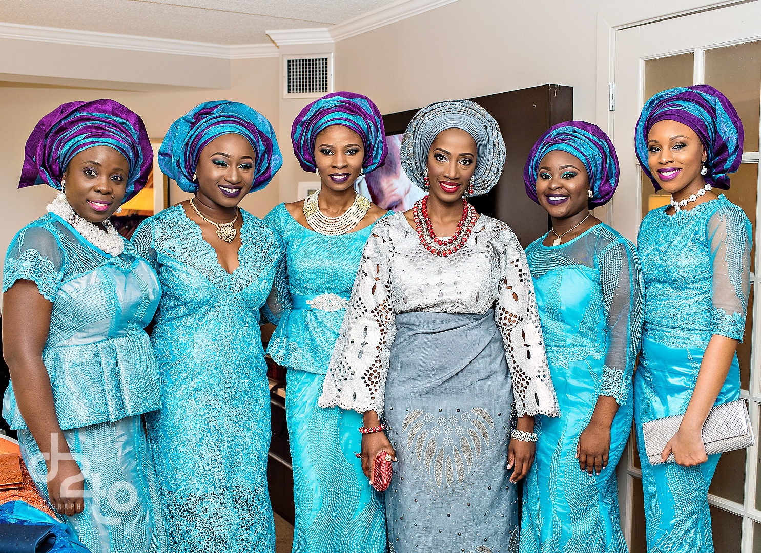 Contemporary Traditional Nigerian Wedding Dress Composition - All ...