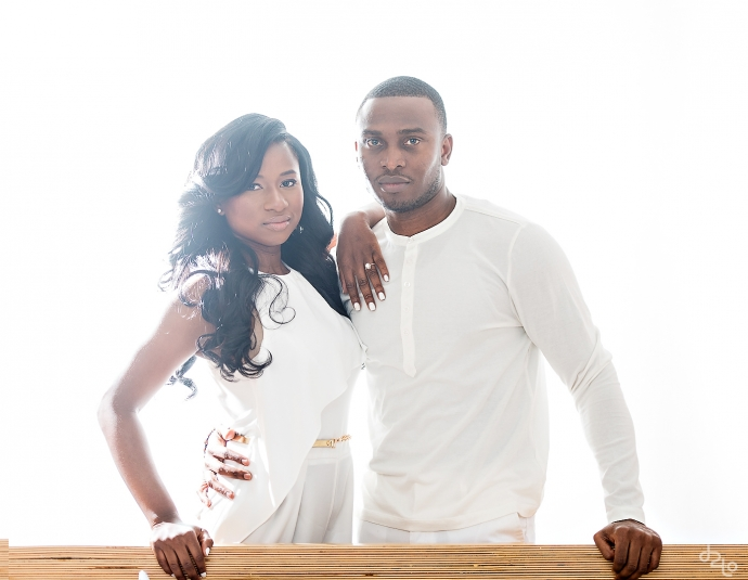 Folasayo and Dotun Engagement Photos by Dele Oyedepo of d2tography