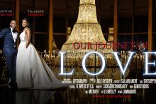 Sayo and Dotun Wedding movie poster at Lombardos