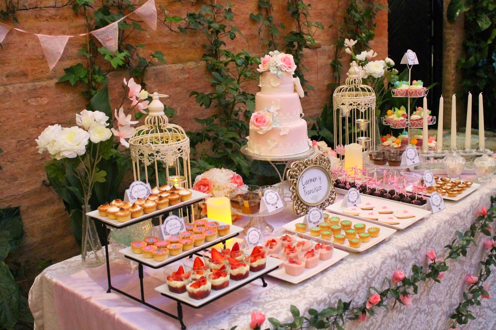 Como Decorar Un Local Para Matrimonio Candy Bar Lo último En Bodas Y Eventos