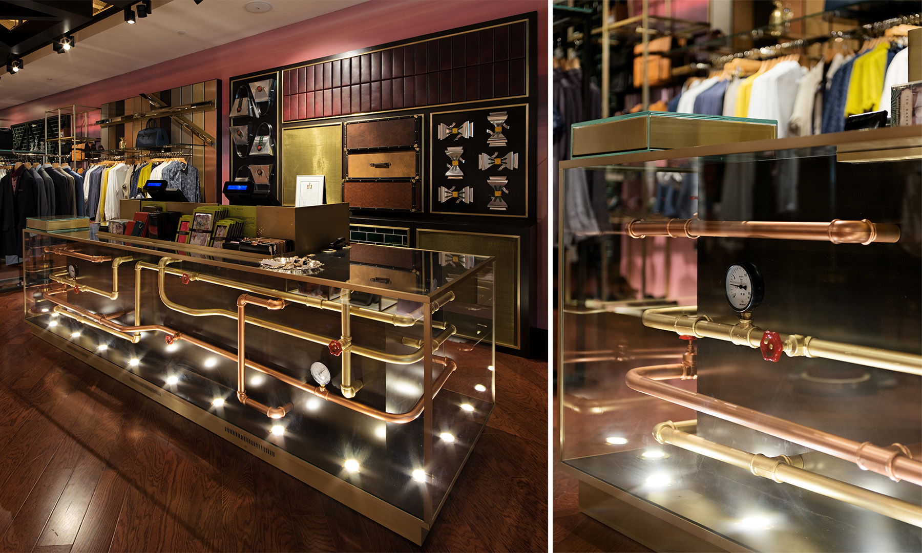 Ottawa Store On Assignment Retail Interior Photography Ted Baker