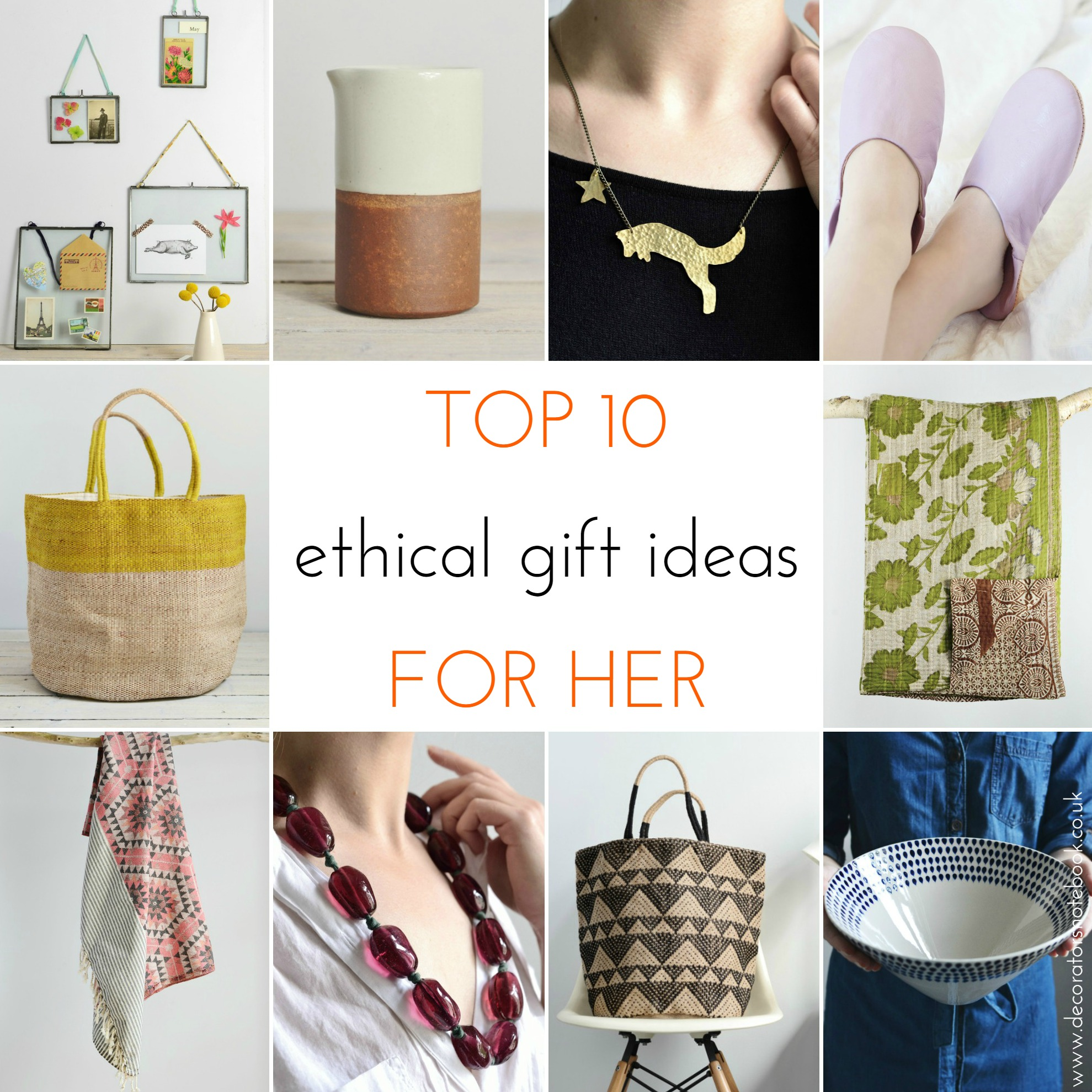 Best Gifts 2015 For Her Ethical Christmas Gift Guide 2015 Decorator 39s Notebook