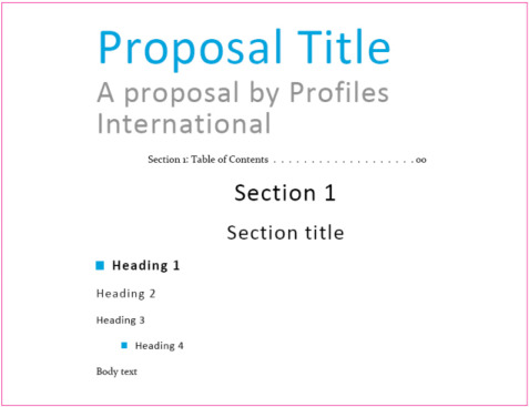 Proposal Design \u2013 Step-By-Step