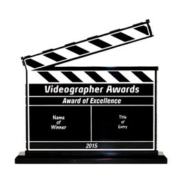 Videographer Awards clipboard 270