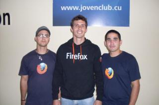 Chicos de Firefoxmanía (http://wiki.mozilla.org/Firefoxmania)