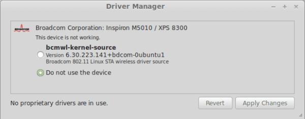 driver propietario linux mint