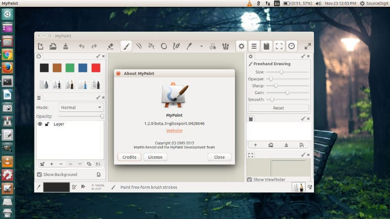 Disponible Versi N 1 2 0 De Mypaint Desde Linux: paint for linux