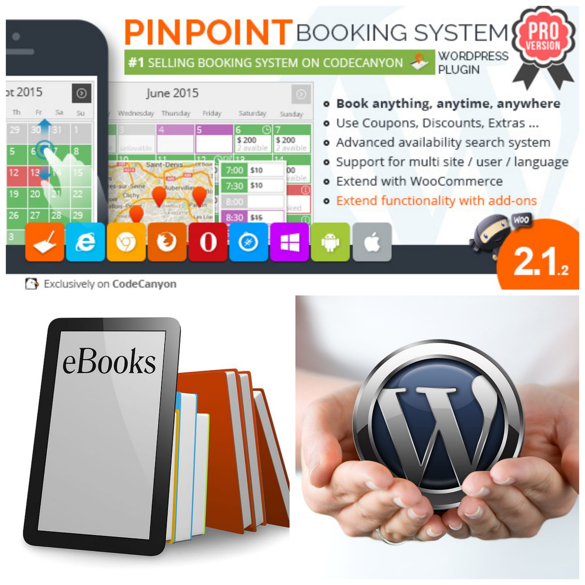Venta De Libros Digitales Pinpoint Booking System Pro Plugin Para La Venta De Ebooks