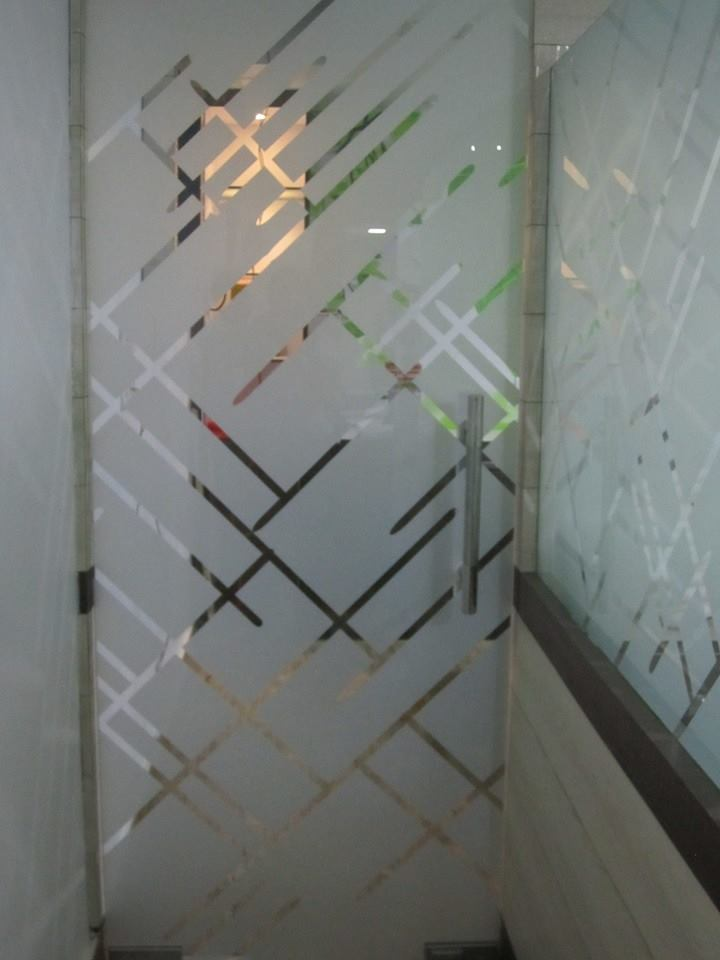 Application Decoration Glass Films Printing - Design Print Solutions