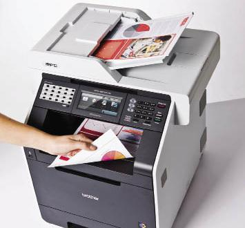 Review Mesin Fotocopy Printer BROTHER MFC-9970CDW