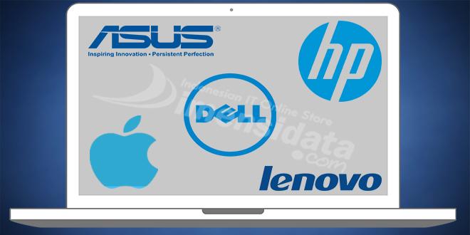 Daftar Merek Laptop Terbaik dan Terlaris di Tahun 2016