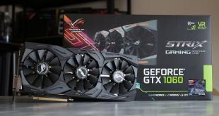 spesifikasi dan harga VGA Card Asus ROG Strix GeForce GTX 1060 OC Terbaru 2016